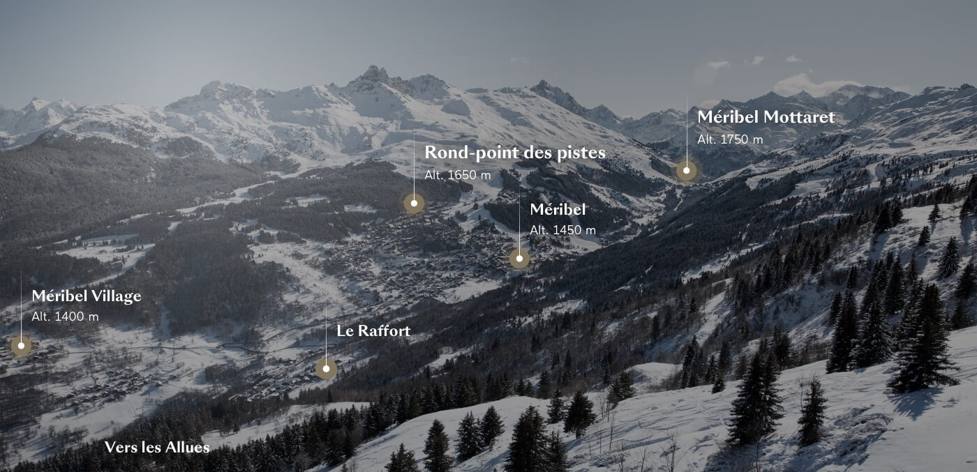 carte detail programme meribel
