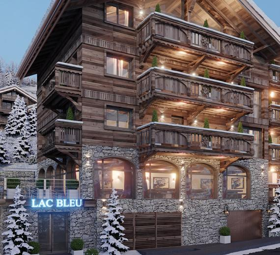 Preview new project LAC BLEU in Meribel